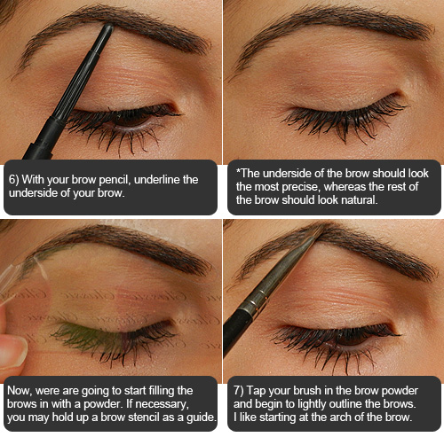 Step By Step Eyebrow Tutorial Love Of Beauty Is Taste